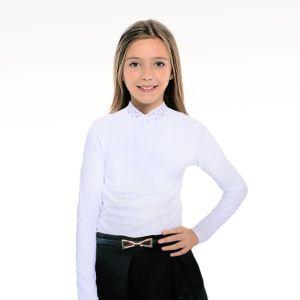Блузка для девочки белая Арт.329