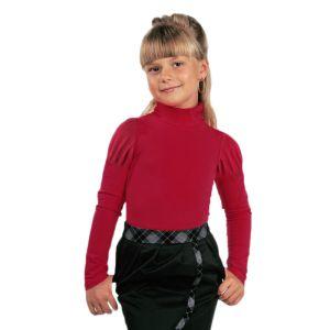 Блузка для девочки с воротником-стойка Арт.332