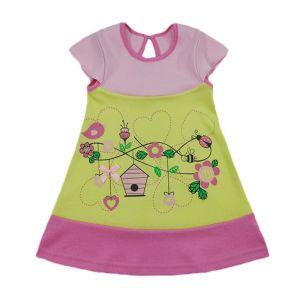 Платье для девочки интерлок Арт.543