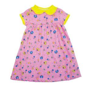 Платье для девочки кулирка набивная Арт.139