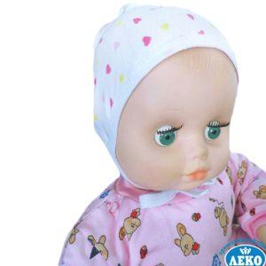 Чепчик для новорожденного ластик Арт.175