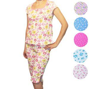 Пижама женская с бриджами Арт.182