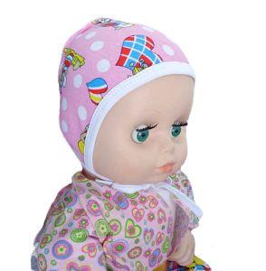 Чепчик для новорожденного футер Арт.19
