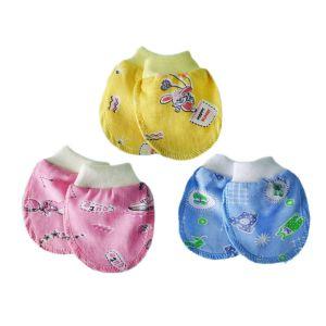 Рукавички для новорожденных кулирка Арт.190