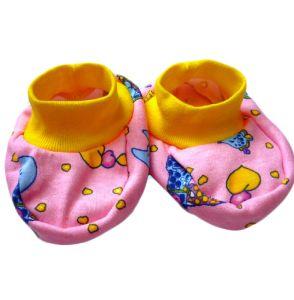 Пинетки для новорожденных интерлок Арт.191