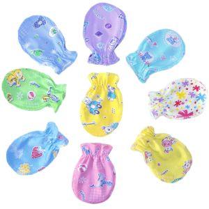 Рукавички для новорожденных кулирка Арт.216