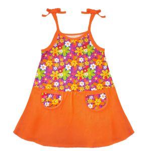 Платье для девочки кулирка набивная Арт.219