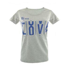 Блуза женская однотонная с печатью Арт.254