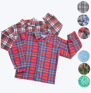 Рубашка для мальчика футер набивной Арт.26