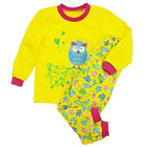 Пижама детская джемпер и брюки с печатью кулирка Арт.267