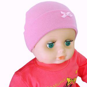 Шапочка детская с отворотом интерлок Арт.324