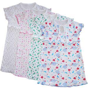 Сорочка для девочки кулирка набивная Арт.408