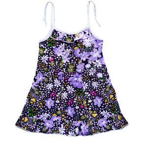 Платье для девочки кулирка набивная Арт.65
