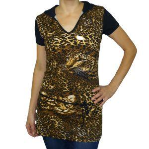Блуза женская кулирка набивная Арт.85