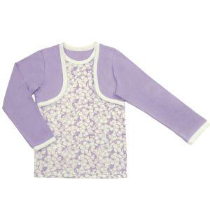 Блузка для девочки с печатью Арт.418