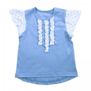 Блузка для девочки (интерлок г/кр х/б 100%) Арт.480