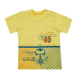 Кофточка ясельная (кор рук, заст на плече, интерлок г/кр+ печать) Арт.464